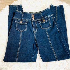 Fashion Nova High Rise Blue Jeans